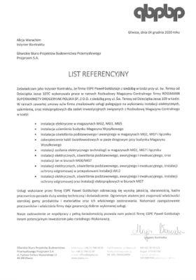 Referencje Projprzem